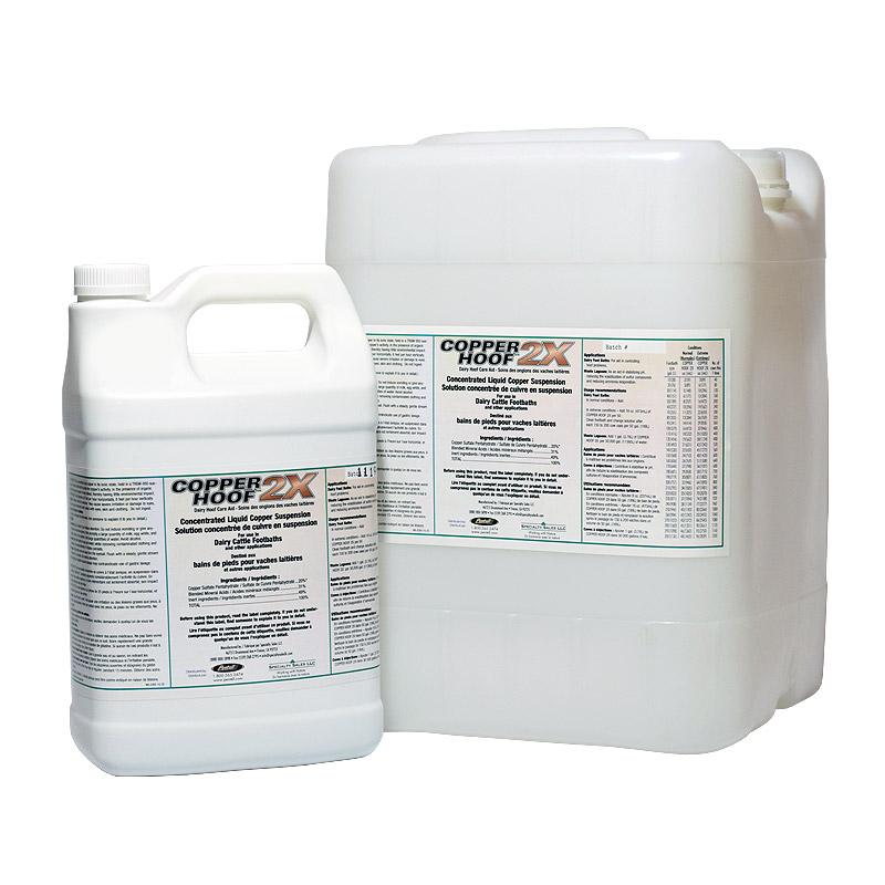 Copper Hoof 2X | Dairy Footbath | Pestell Minerals & Ingredients