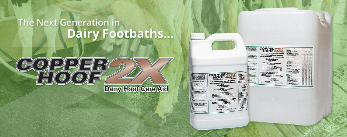 Copper Hoof 2X - Dairy Footbath - Title