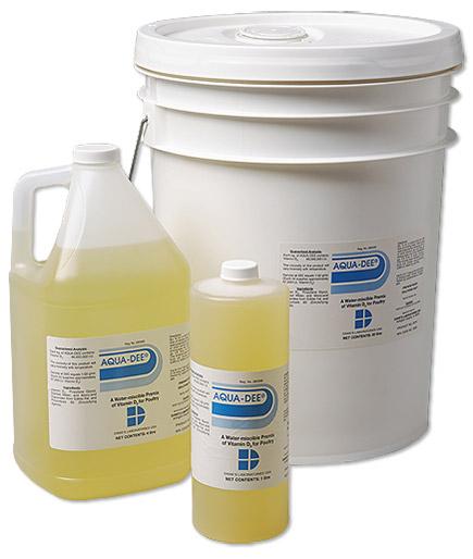 AQUA-DEE - Poultry Vitamin D3 Products