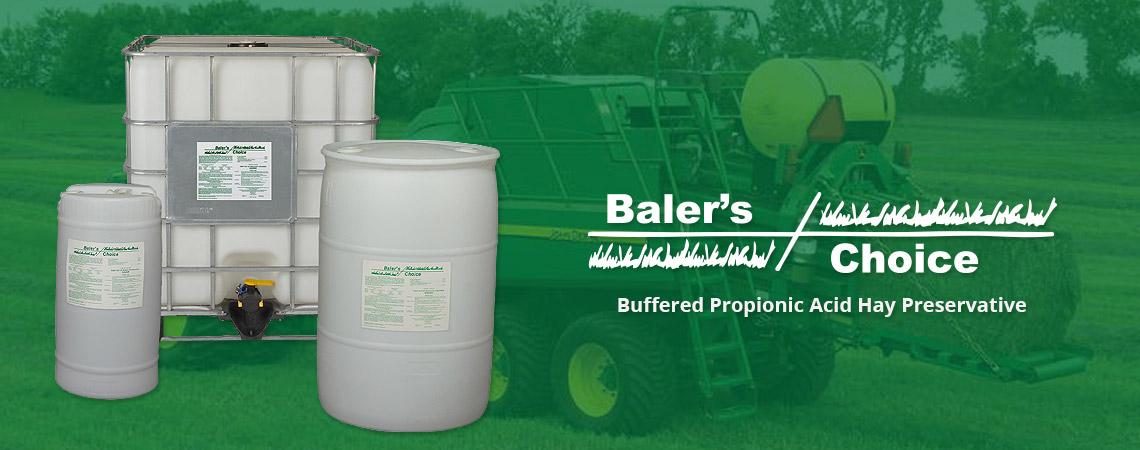 Baler's Choice - Buffered Propionic Acid Hay Preservative