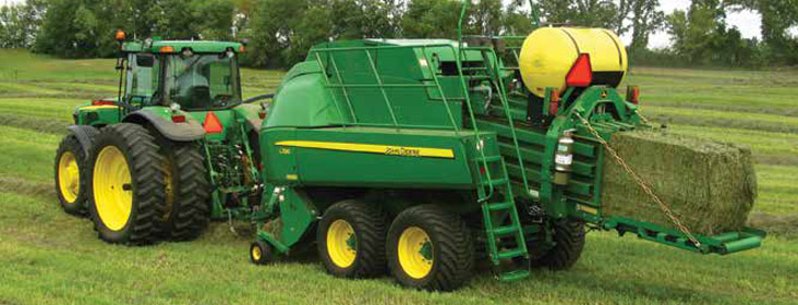 Baler's Choice - Application Rates – Large Square Bales