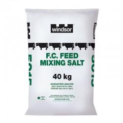 Windsor Salt – F.C. Feed Mixing Salt - 40kg Bag #5015